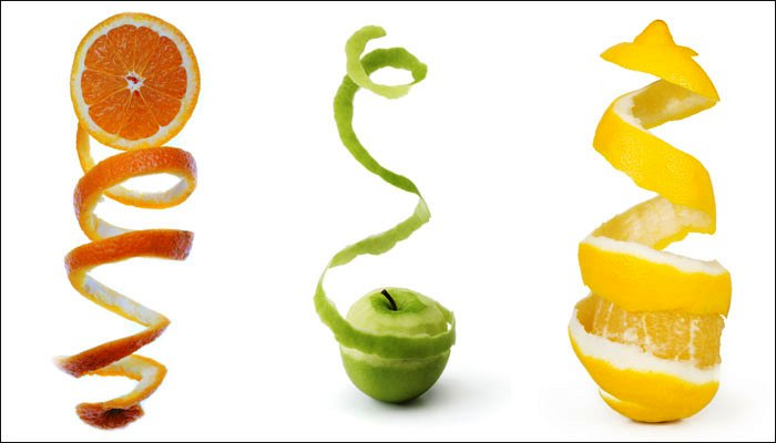 Your skin and home the benefits from fruit peels - Practical uses for the apple peels ...